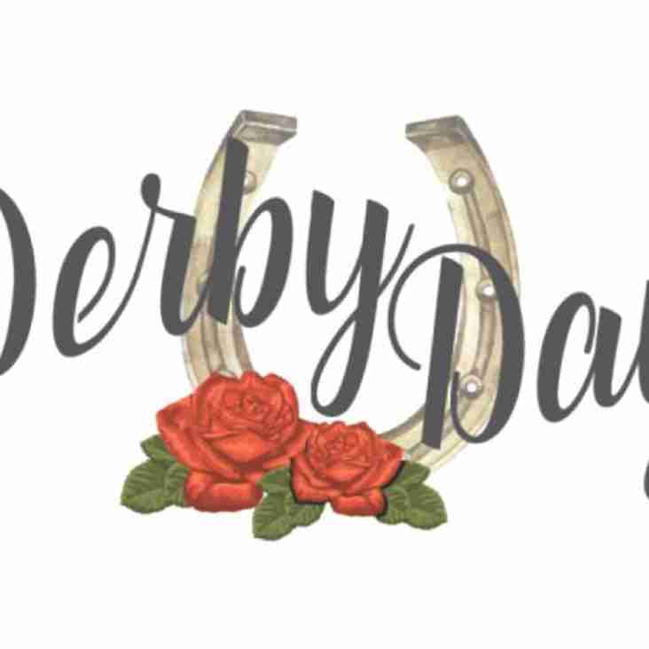 A few places left for Derby Day Lunch - Saturday 2nd June!  BOOK NOW!