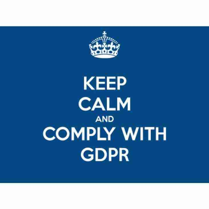 KRFC General Data Protection Regulation (GDPR)