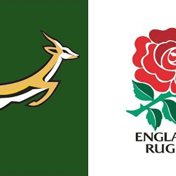 Watch England face South Africa on Saturday at Waverley Road.