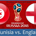 FIFA World Cup England v Tunisia on Monday evening!!