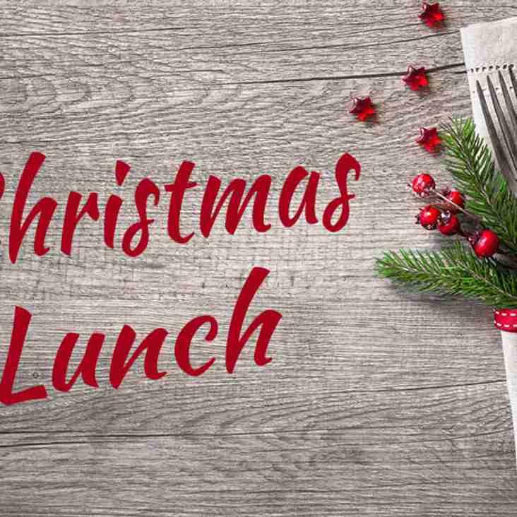Xmas Lunch v Leighton Buzzard on Saturday 15th December.