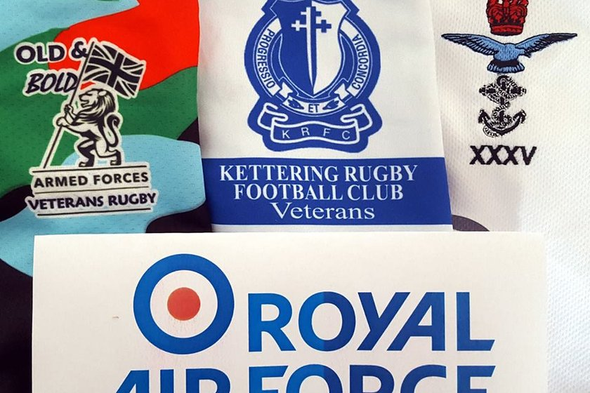 Combined Services Baa Baas vs Kettering Vets - RAF Charity Match on Saturday 2nd March