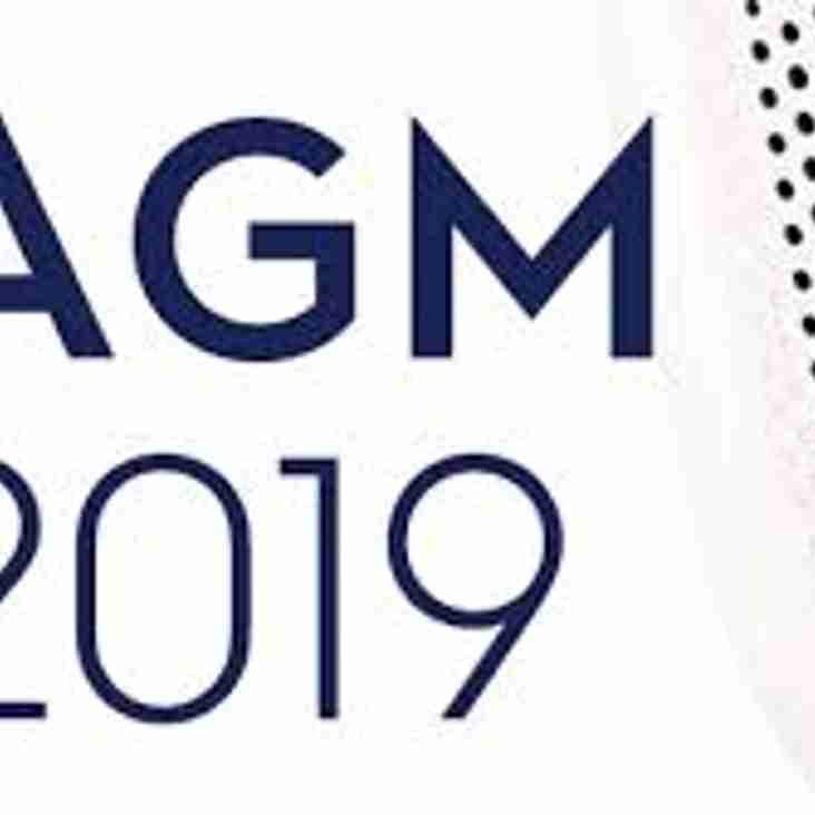 KRFC AGM - Friday 26th July 2019 - Second Calling!