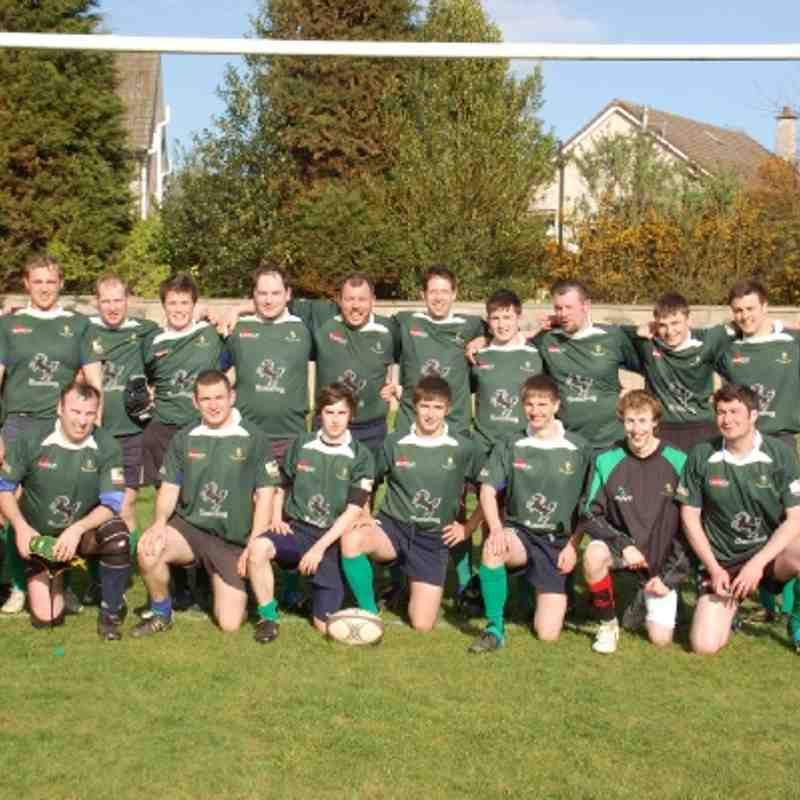 Seniors v Panmure March 2012