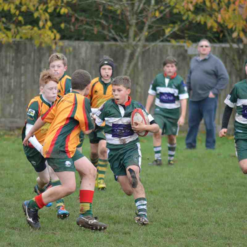 Reading U13's Vs Beaconsfield U13's (16/11/14)