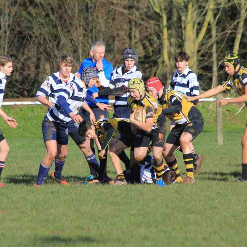 DRFC U16's Vs Stourbridge RFC