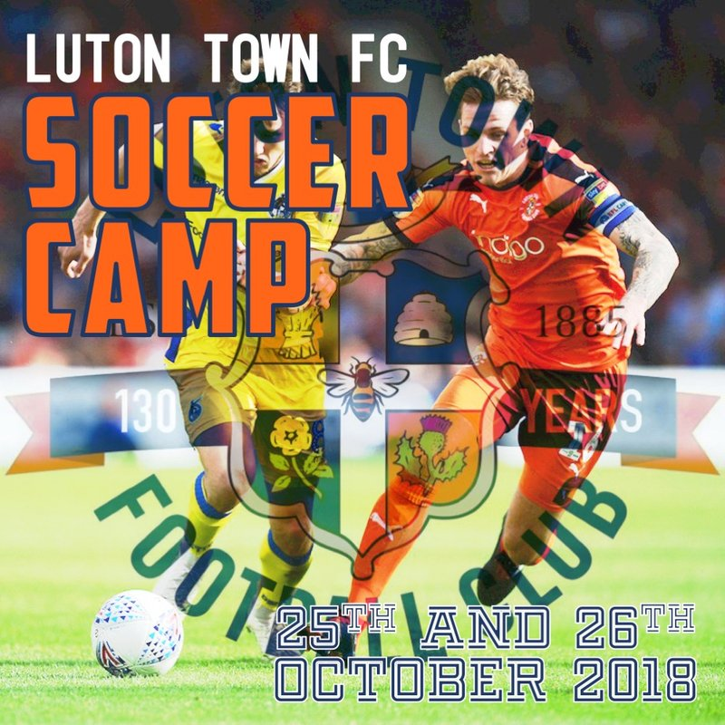 Luton Town FC Soccer Camp is back at LUFC!