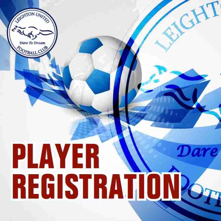 IMPORTANT INFORMATION: Club Registration Day Details