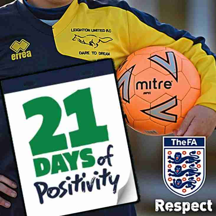 FA Respect: 21 Days of Positivity