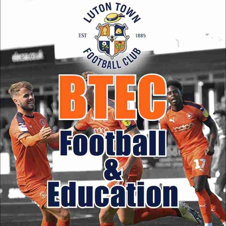 Luton Town FC  Full Time BTEC Sport Education Programmes