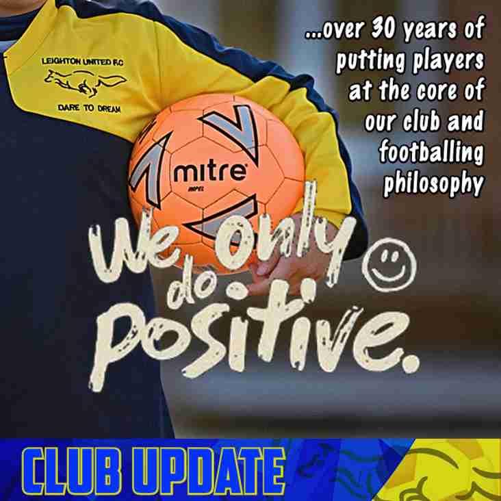 LUFC Club Update - April 2019
