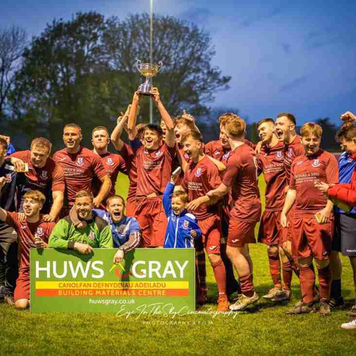 Holyhead Hotspur Reseves Win Megan Cup