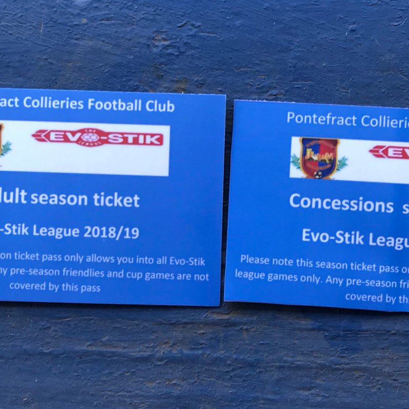 Season Tickets NOW available!