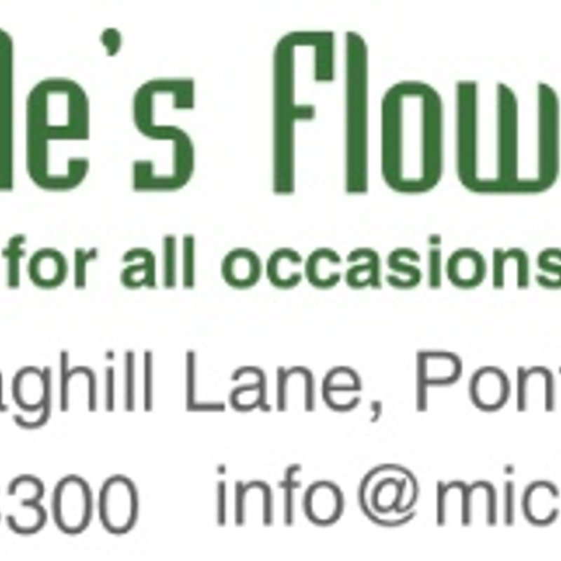 """""""Blossoming"""" partnership with Michelle's Flowers!"""