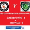 Cromer Town 5 Martham 2