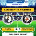 Buxton 5  Cromer Town  3