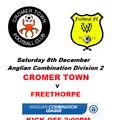 Cromer Town v Freethorpe