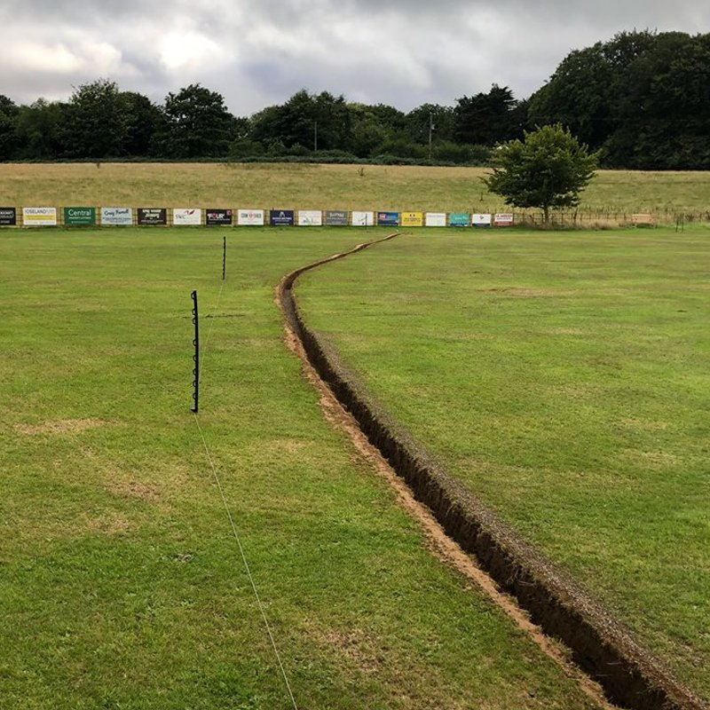 DRAINAGE WORK BEGINS AT THE SCG