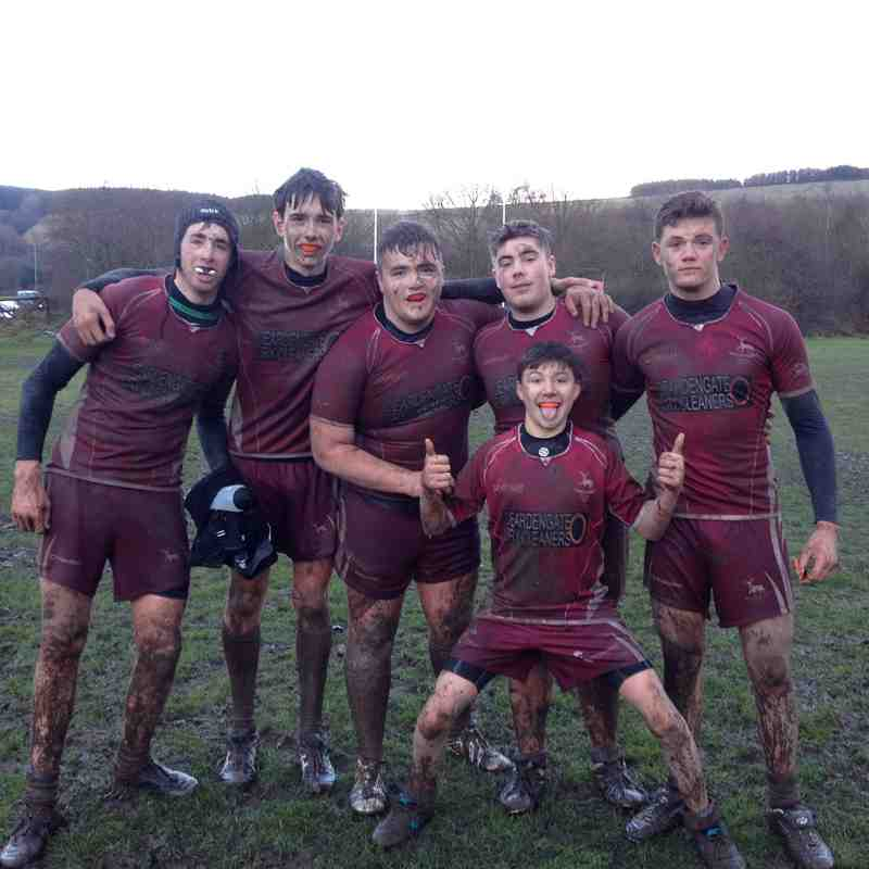 A bit muddy after the game