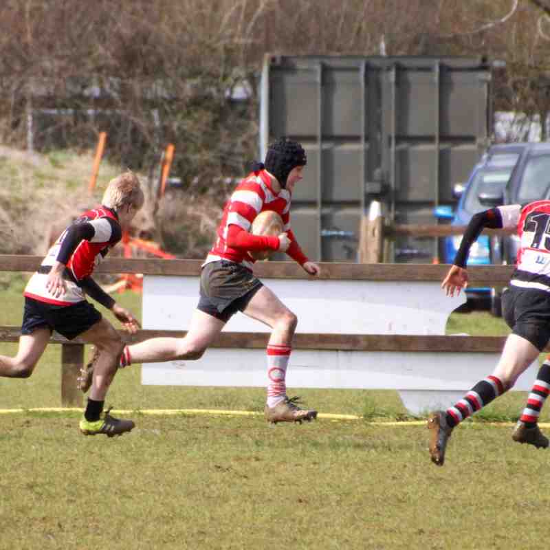 u15s v Frome 28 Feb 16