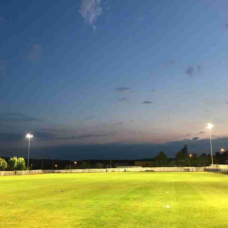 Tuesdays Floodlight Ceremony!
