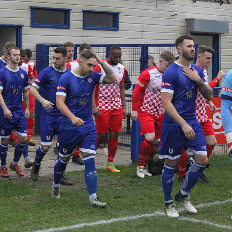 Glossop North End Vs Market Drayton By Steve Dyson