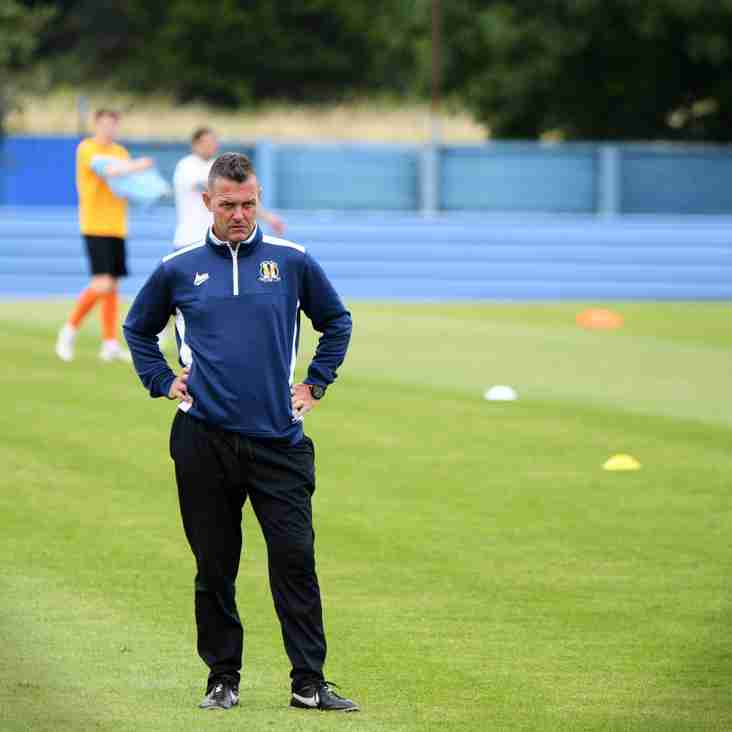 League: Post-match interview with Sean Regan (Eccleshill United FC 0-1 Worksop Town)