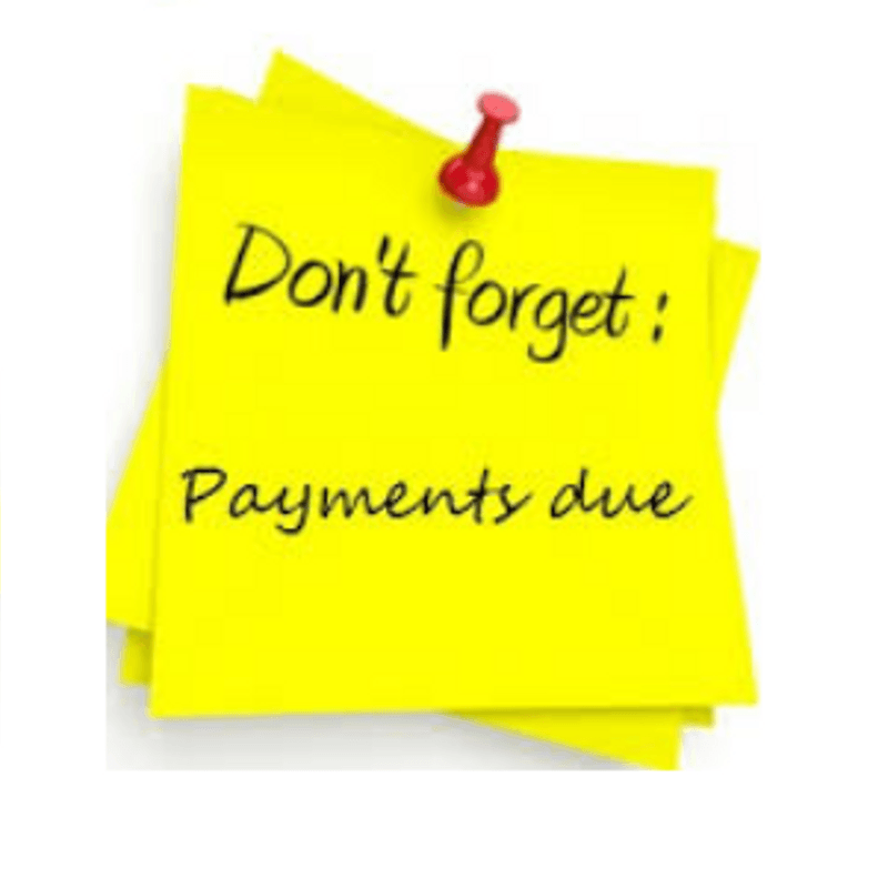 Reminder - Please Pay Your Membership Dues