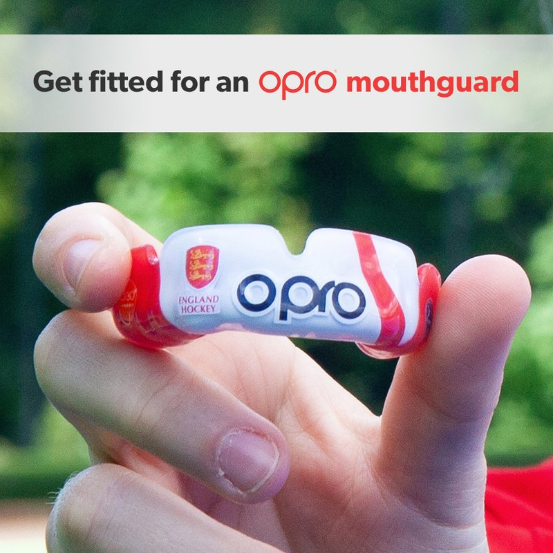 OPRO mouthguard fitting