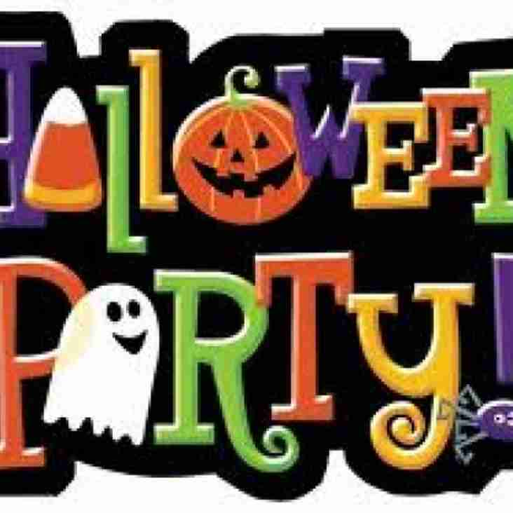 Halloween Party - Sat 28 Oct 7pm