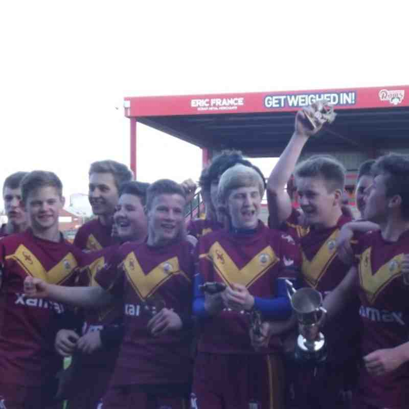 U15's Shaw Cross Vs Moor Heavy Woollen Final 2013
