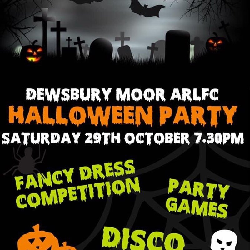 Spooky Halloween Party - Sat 29 Oct @7.30pm