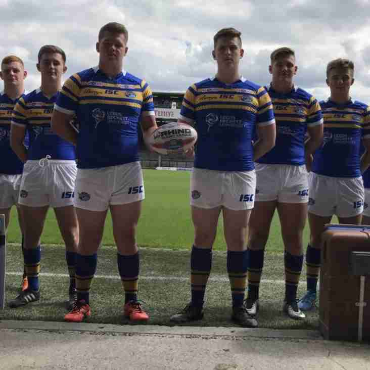 FIVE PLAYERS JOIN LEEDS RHINOS ACADEMY