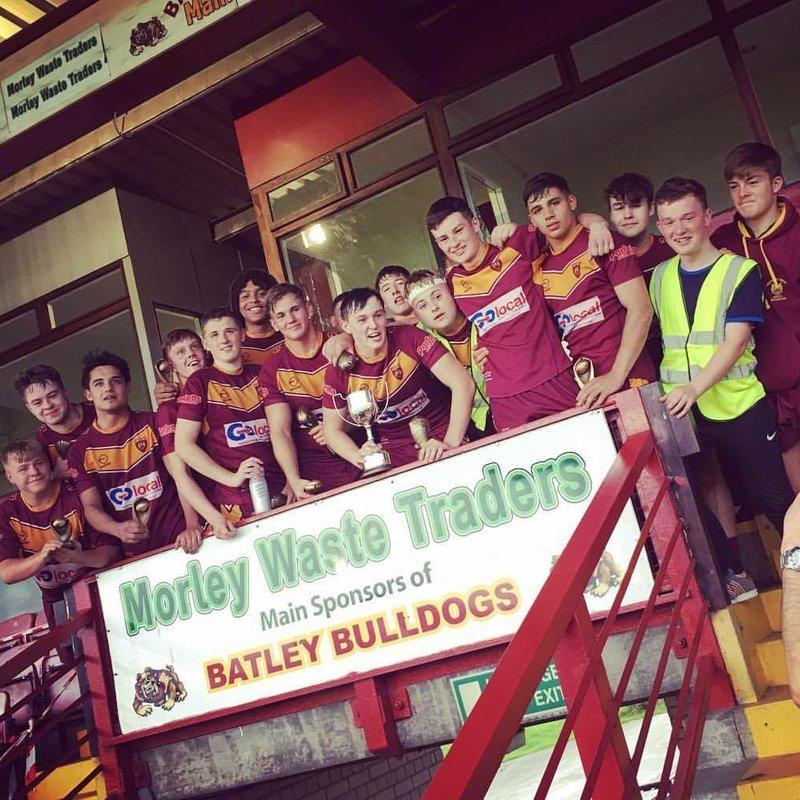 U16's win Heavy Woollen Cup 24 - 16