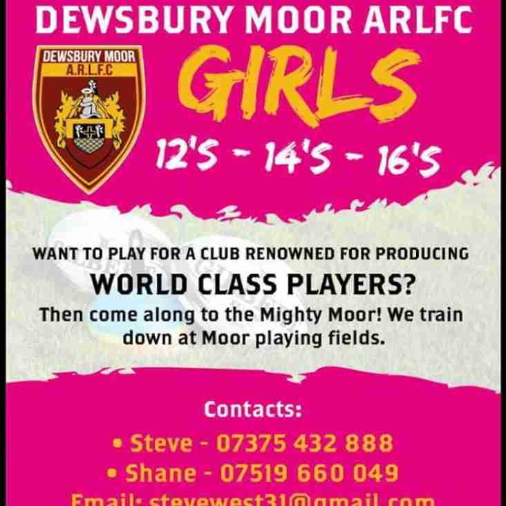 Our girls are recruiting!
