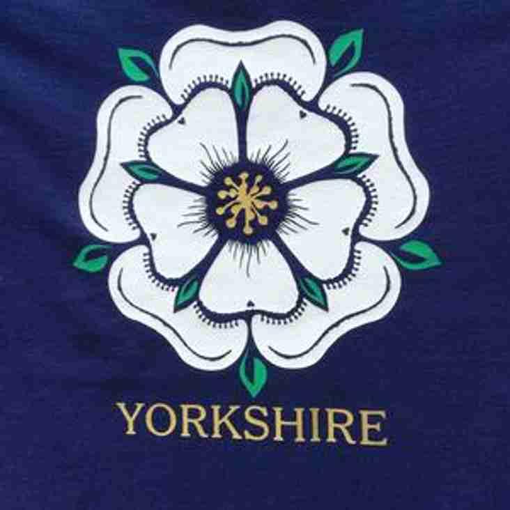 U17's Yorkshire v Cumbria ko 13:30