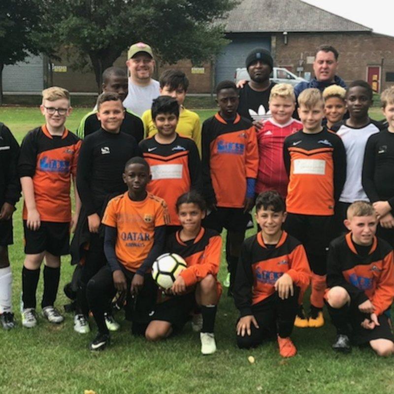 Under 12 Orange lose to Arnold Town U12 Blue 2 - 0