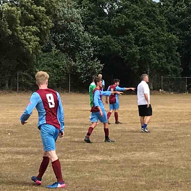 Hamworthy U18 FC v Bashley FC 28.7.2018