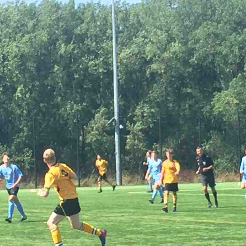 Hamworthy U18 FC v Wimborne Town  5.8.2018