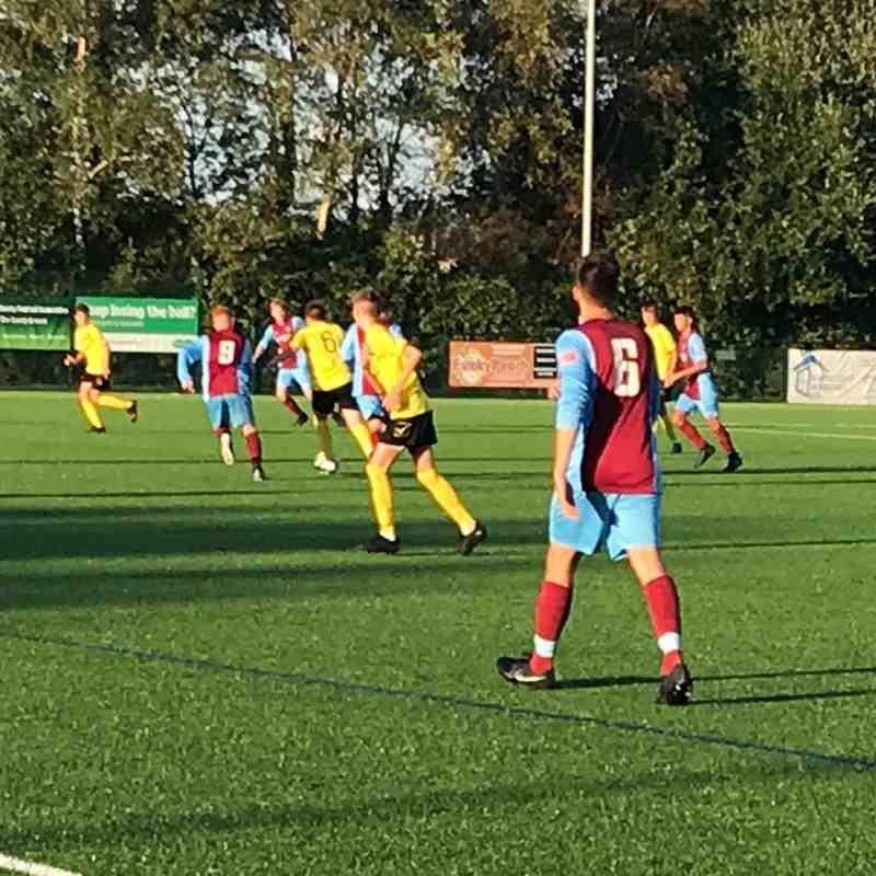 Hamworthy U18 FC v Hamworthy U16 FC 16.8.2018