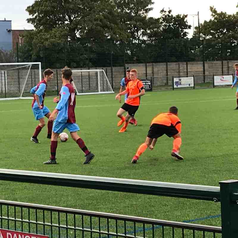 Hamworthy United U18 FC v New Milton FC