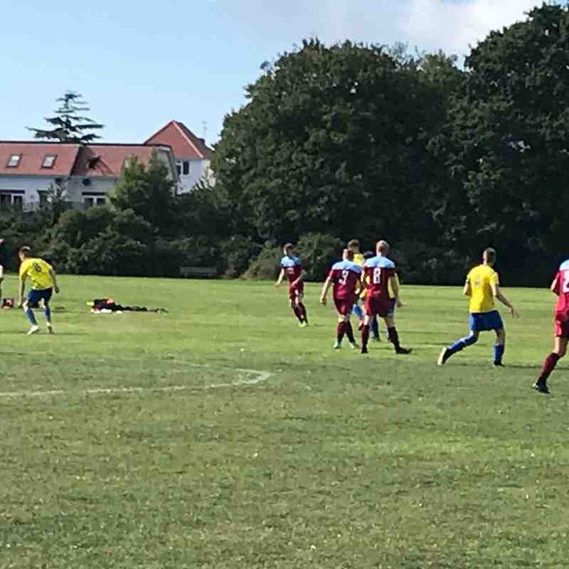 Longfleet Youth FC U18 v Hamworthy United FC U18