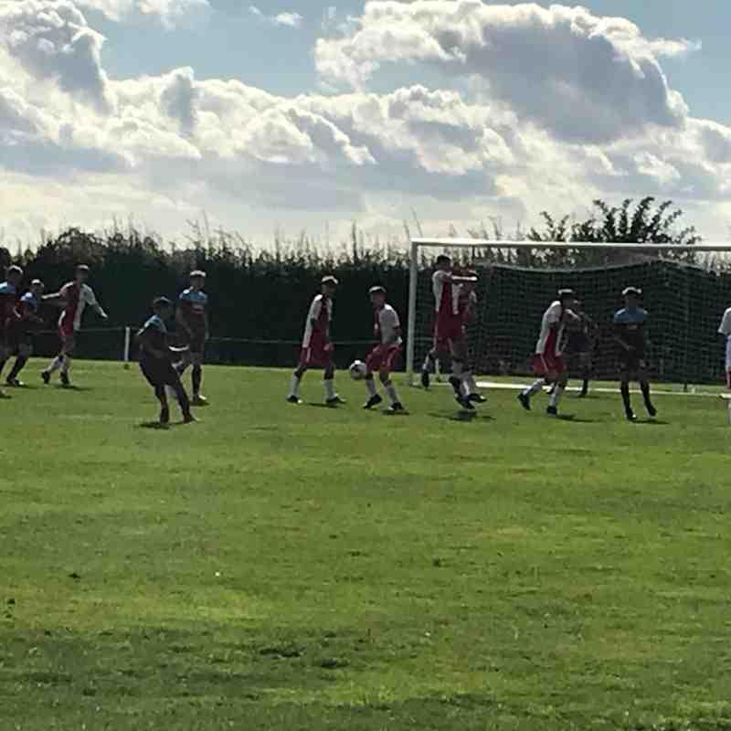 Poole Town Wessex U18 FC v Hamworthy United U18 FC