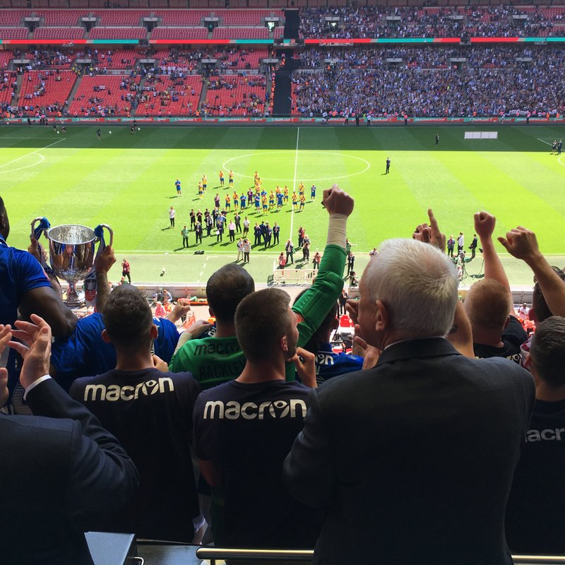 THATCHAM TOWN FC WIN THE FA VASE !!!!!