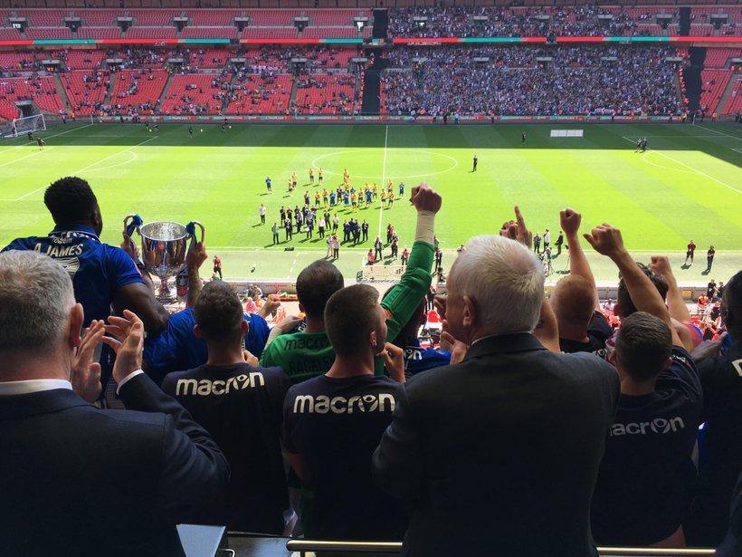 Thatcham Town Fc Win The Fa Vase News Thatcham Town