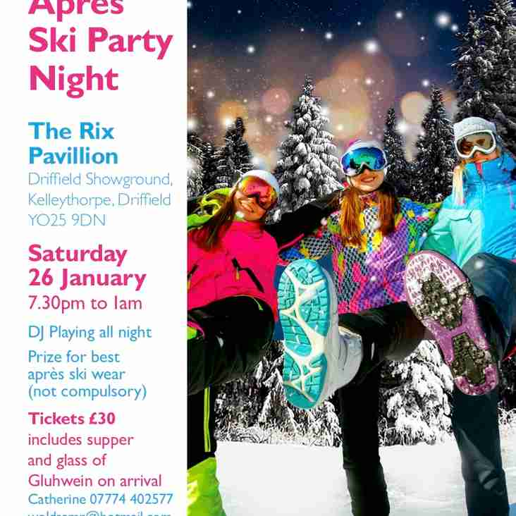 APRES SKI PARTY - CHARITY EVENT