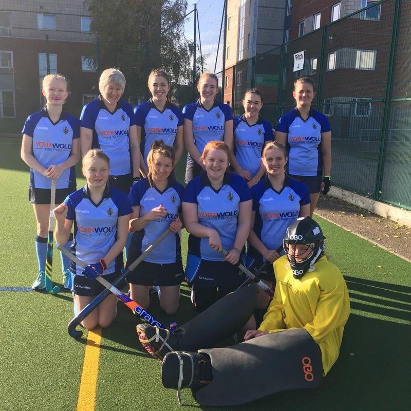 Driffield Ladies 4's 2 - 2 Hull Uni 2