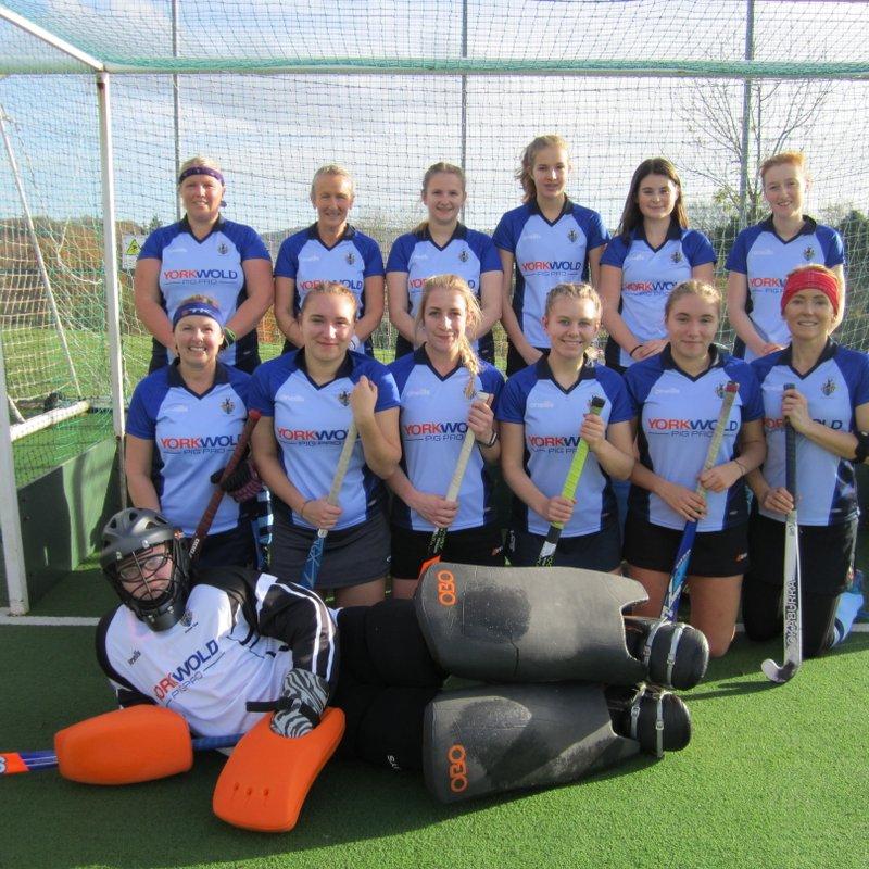 Driffield Ladies 2's 1 - 1 Bridlington 1
