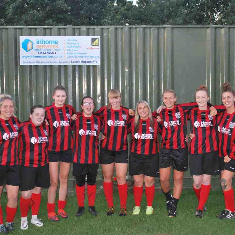 Lower Hopton Ladies 18/19 Season