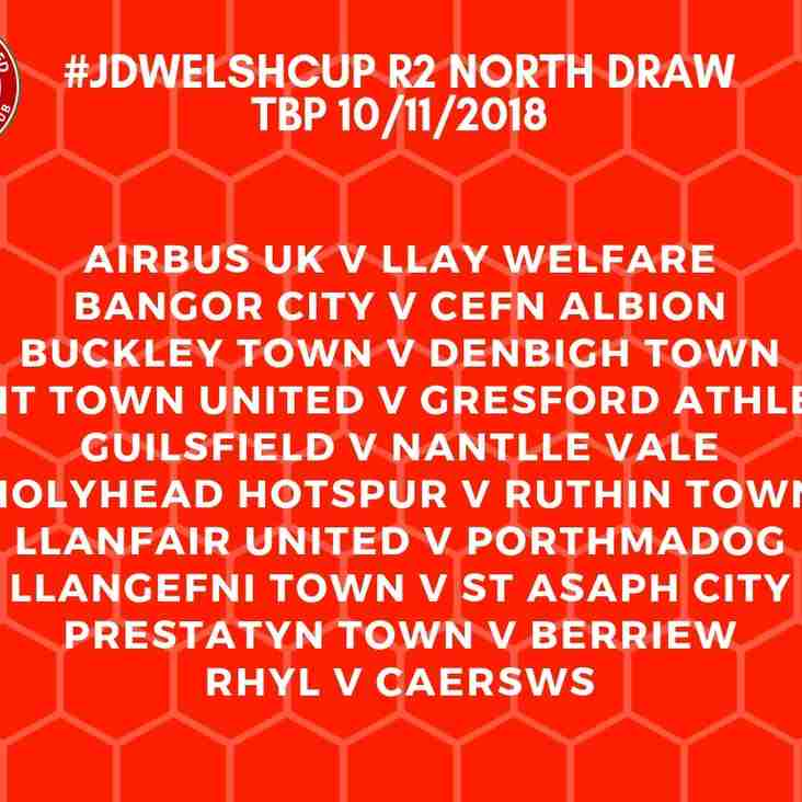 WELSH CUP RD2 DRAW